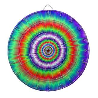 Color Explosion Tie-dye Dartboard