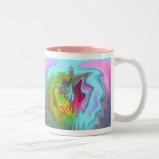 Color Fantasy Abstract Mugs