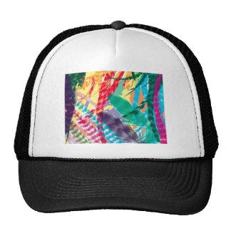 Color Feathers Cap