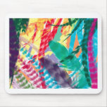 Color Feathers Mouse Pads