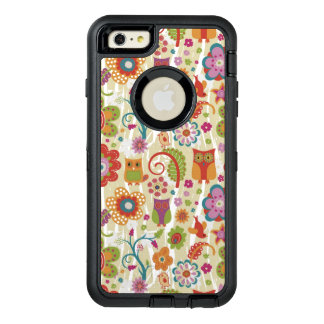 Color Floral and Owl OtterBox iPhone 6/6s Plus Case