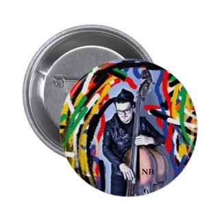 Color fun Nick Bresco swipes in 6 Cm Round Badge