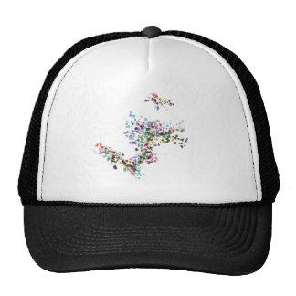 Color Fun Splatter Combo Hat