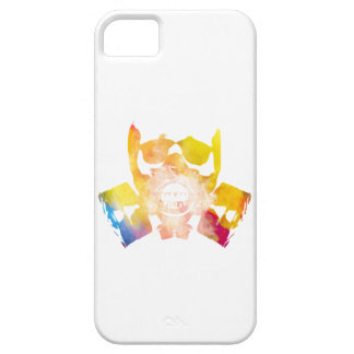 Color gas mask barely there iPhone 5 case