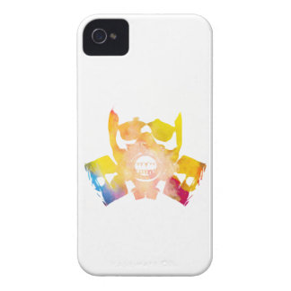 Color gas mask iPhone 4 Case-Mate cases