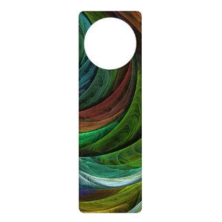 Color Glory Abstract Art Door Hanger