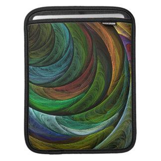 Color Glory Abstract Art iPad Sleeve