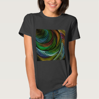 Color Glory Abstract Art T-Shirt