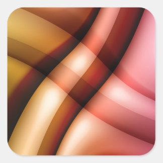 color gradient no 24 by Tutti Square Sticker