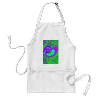 Color growth, nautilus shell standard apron