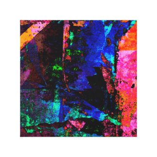 Color Grunge Design Canvas Print