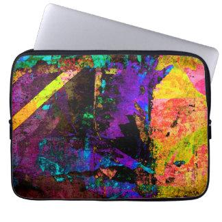 Color Grunge Design Laptop Sleeve