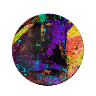 Color Grunge Design Plate
