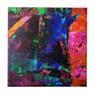 Color Grunge Design Tile