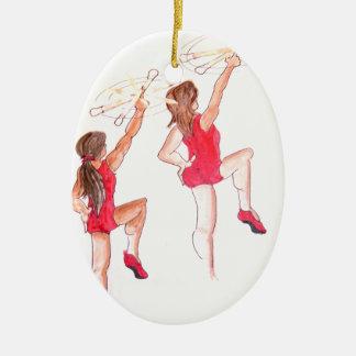 Color Guard Christmas Ornament