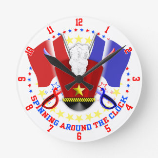 Color Guard Clock