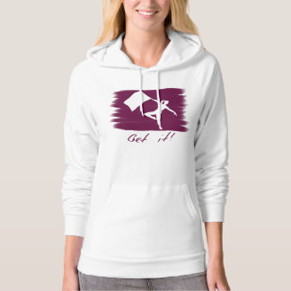 "Color Guard Dancer ""Get It!"" Hoodie"