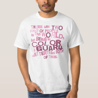 Color Guard (Funny) Gift T-Shirt