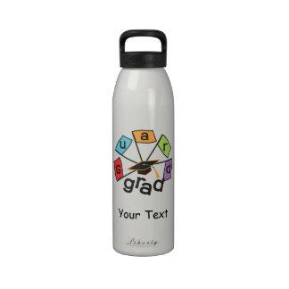 Color Guard Graduate Reusable Water Bottle