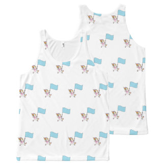 Color Guard Unicorn All-Over Print Tank Top