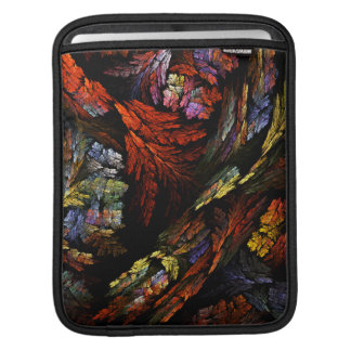 Color Harmony Abstract Art iPad Sleeve