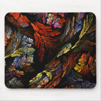 Color Harmony Abstract Art Mousepad