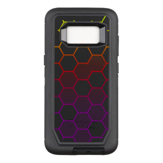 Color Hex with Grey OtterBox Defender Samsung Galaxy S8 Case
