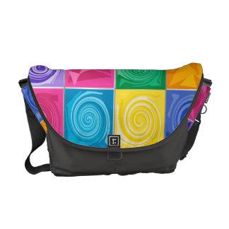 Color hurricanes courier bag