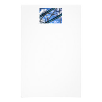 Color Image of the Shard Through the metalwork of Customized Stationery