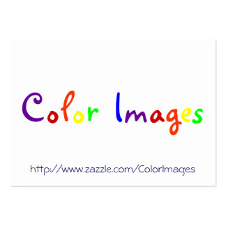Color Images Large Business Cards (Pack Of 100)