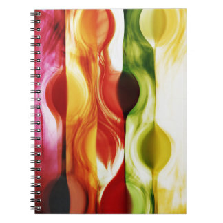color in motion #1 note book