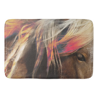 Color in Oz Mat Western Horse