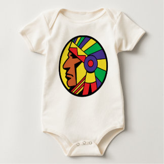 Color Indian Head Bodysuit