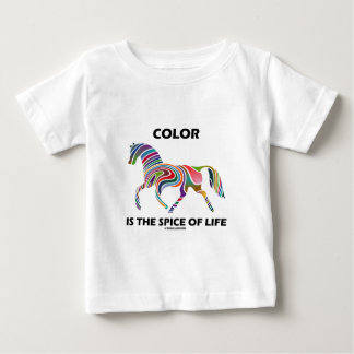 Color Is The Spice Of Life (Horse Color Swirl) Baby T-Shirt
