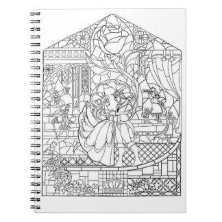 Color It! The Beauty And the Prince Note Books