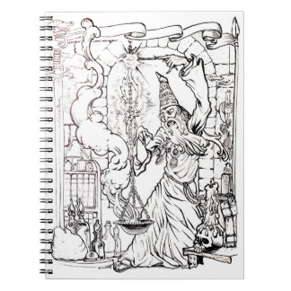 Color It! The Wizard Notebooks