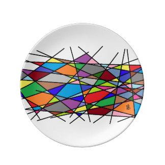 color line plate