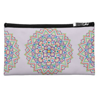 Color Mandala Cosmetic Bag