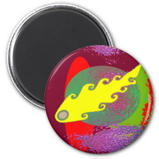 Color Mania : Inflamed in Romance 6 Cm Round Magnet