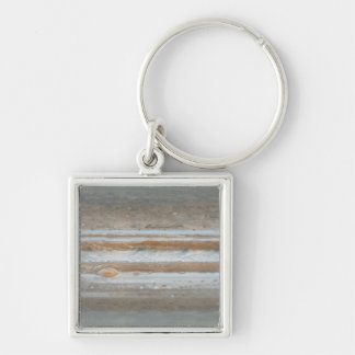 Color map of Jupiter 2 Silver-Colored Square Key Ring