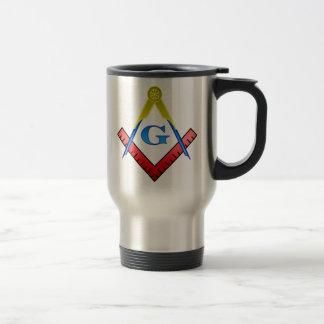 Color Masonic Travel Mug