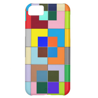 COLOR Maze Happy Graphics Cover For iPhone 5C