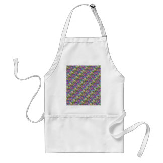 Color Maze Sissy Girl Camo Colorful Girly Abstract Aprons