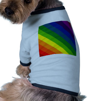 COLOR ME A RAINBOW (Striped design) ~ Pet Shirt