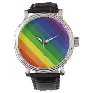 COLOR ME A RAINBOW (Striped design) ~ Watch