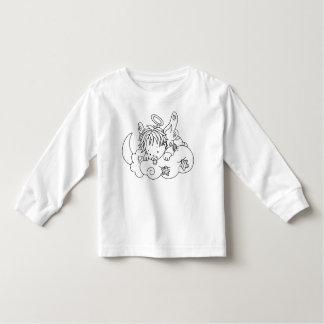 Color Me Angel Baby on Cloud Tee Shirts