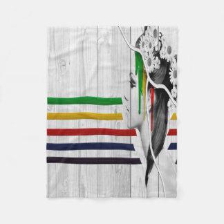 Color Me Fleece Blanket