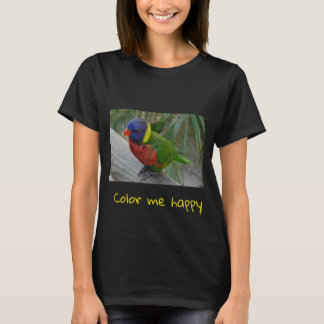 Color me happy lorikeet  shirt