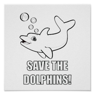 Color Me: Save the Dolphins! Poster