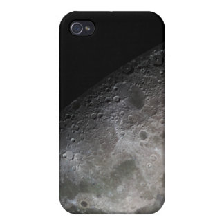 Color mosaic of the Earth's moon iPhone 4 Cover
